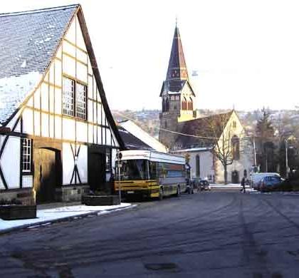 Uhlbach Kelter und Kirche