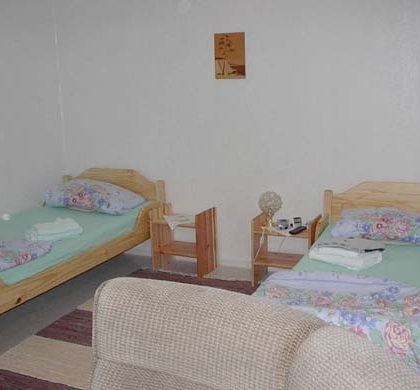 DZ2 mit 2 getrennte Betten / TV